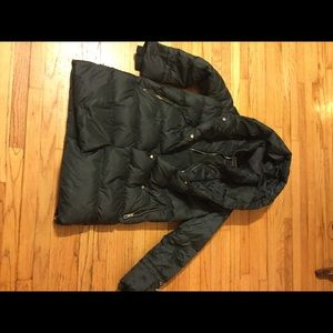 New Zara dawn puffer jacket size M
